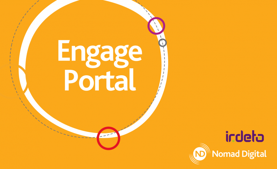 Engage portal infographic