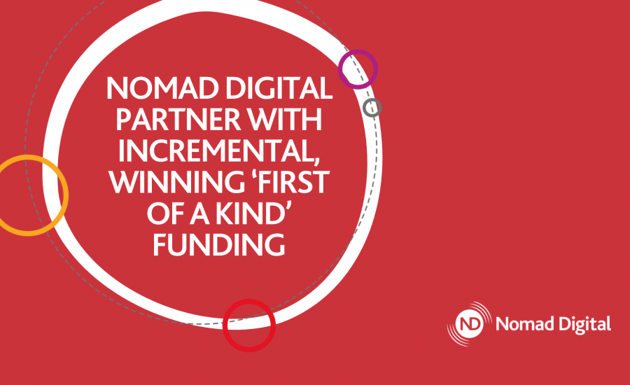 Nomad partner with Incremental infographic